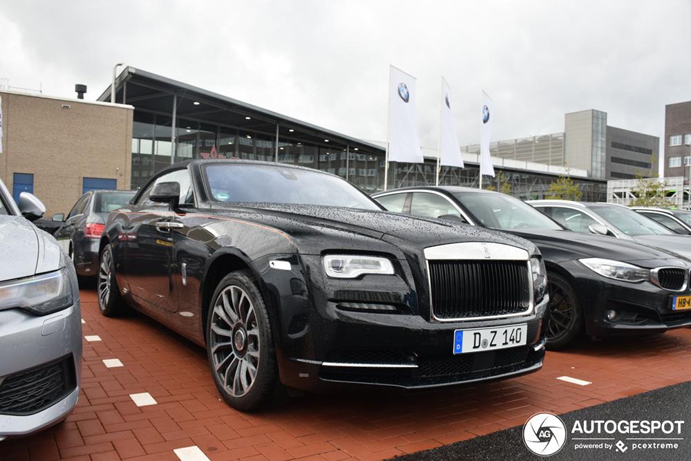 Spot van de dag: Rolls-Royce Dawn