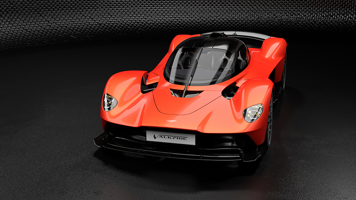 Aston Martin Valkyrie gaat 1160 pk leveren!