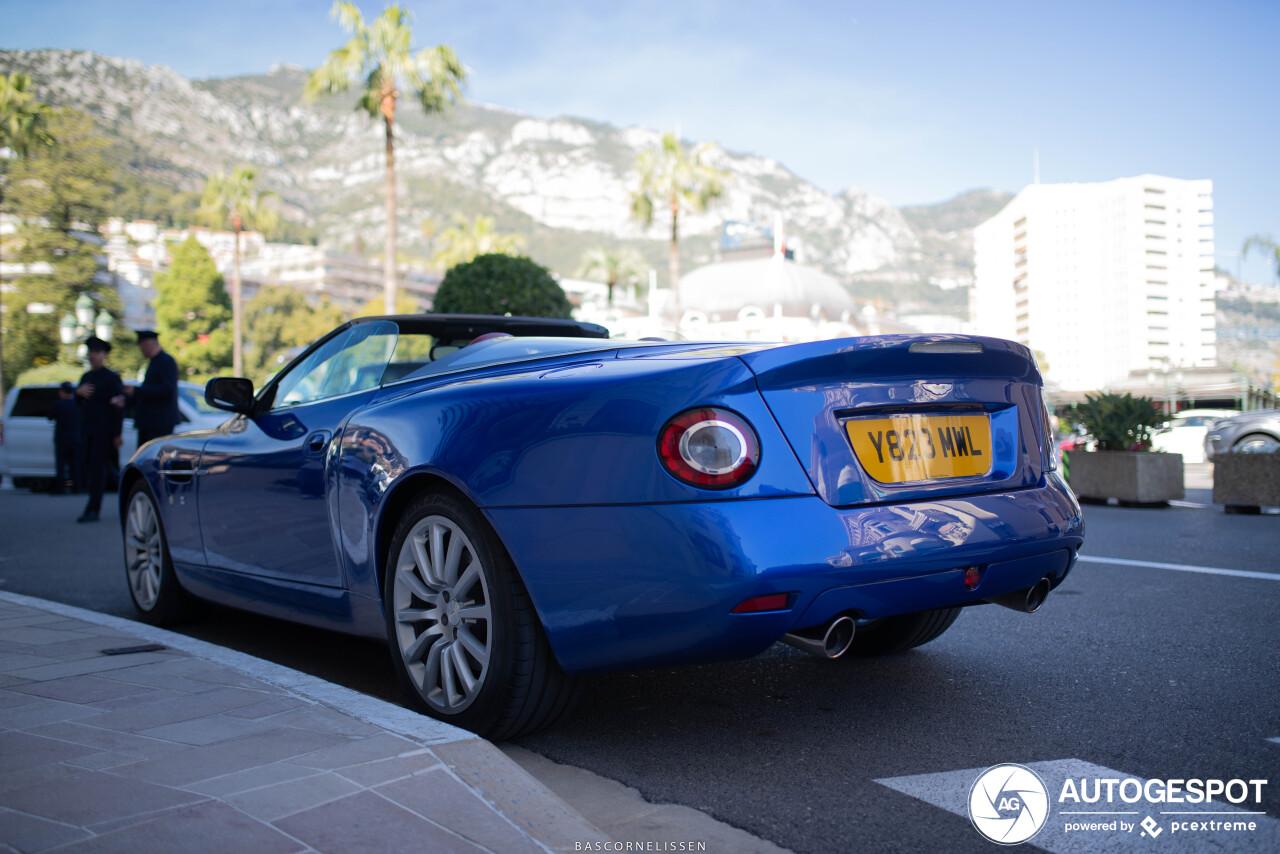 You will not see this Aston Martin very often