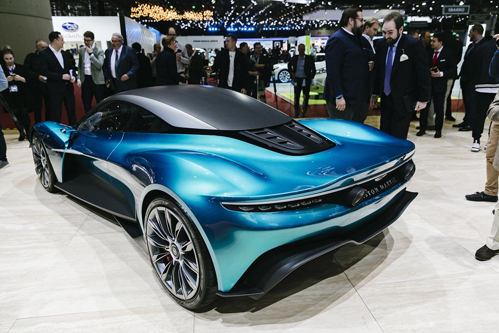 2019 日内瓦车展:阿斯顿马丁 Vanquish Concept