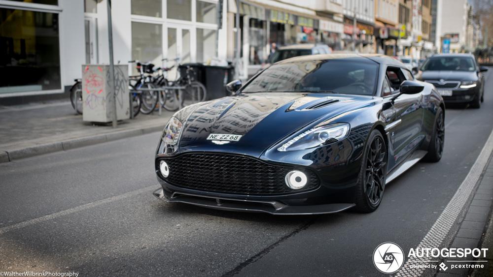 Düsseldorf laat Aston Martin Vanquish Zagato Shooting Brake zien
