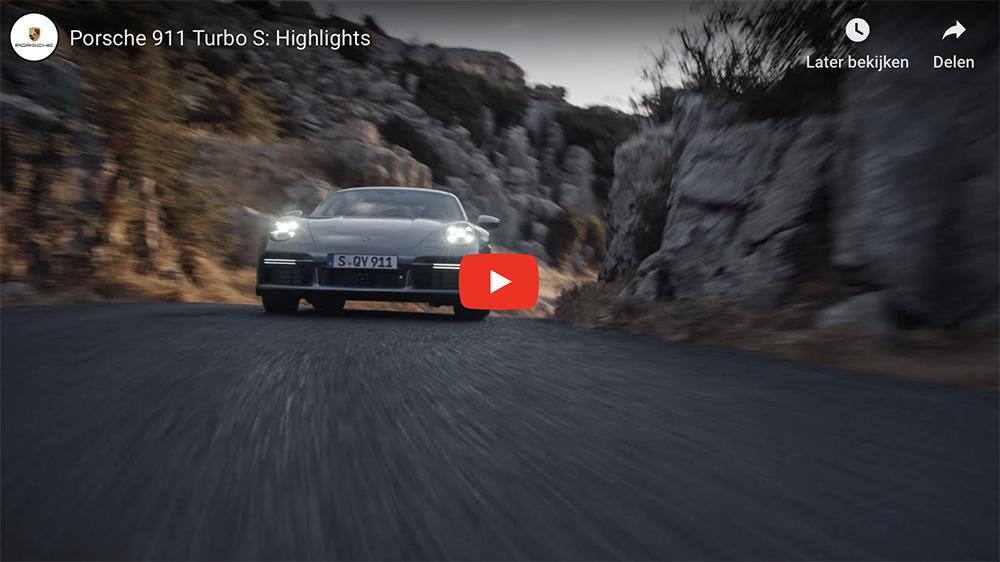 Filmpje: digitaal genieten van de Porsche 992 Turbo S