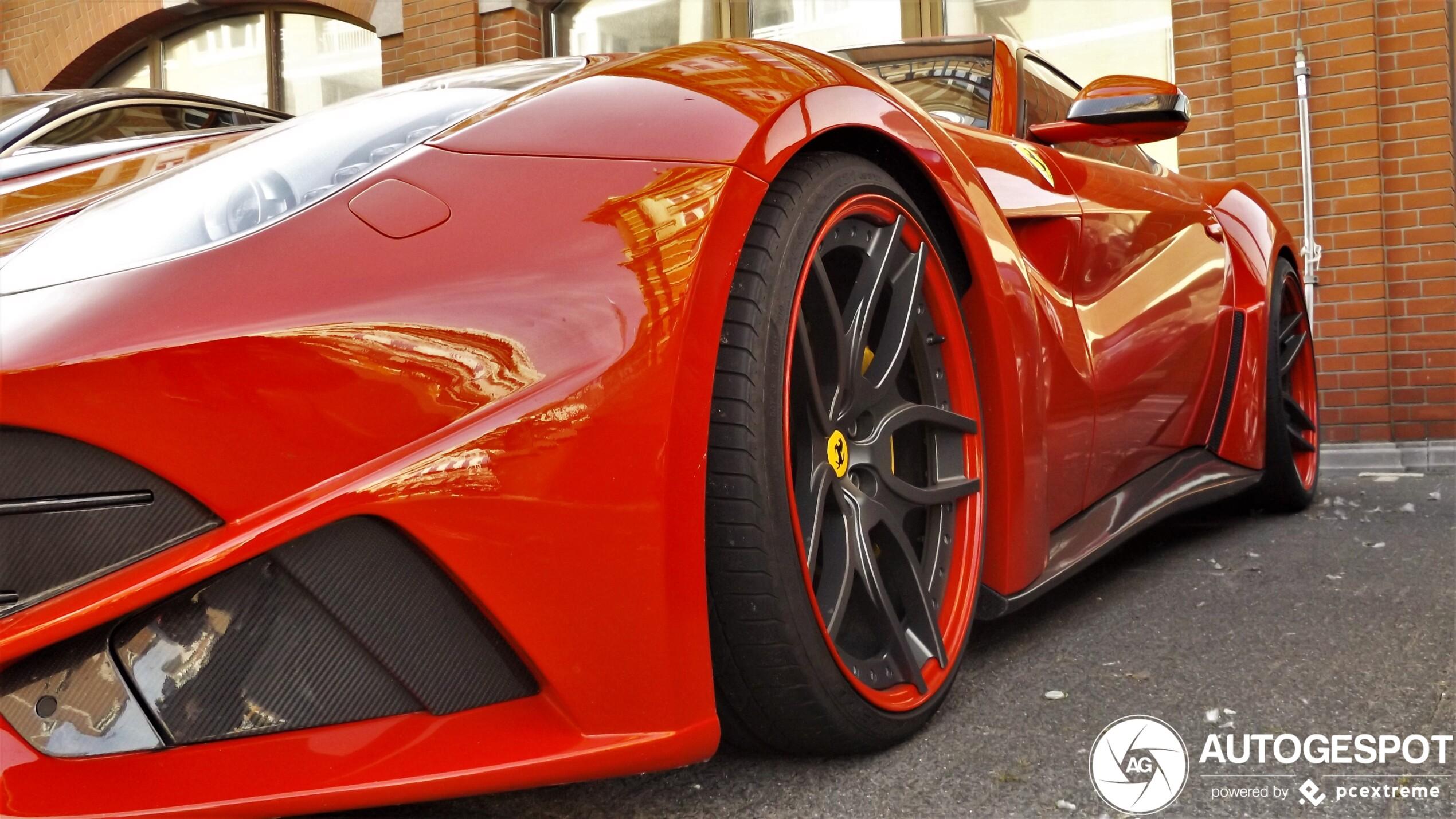 Spot van de dag: Ferrari Novitec Rosso F12 N-Largo