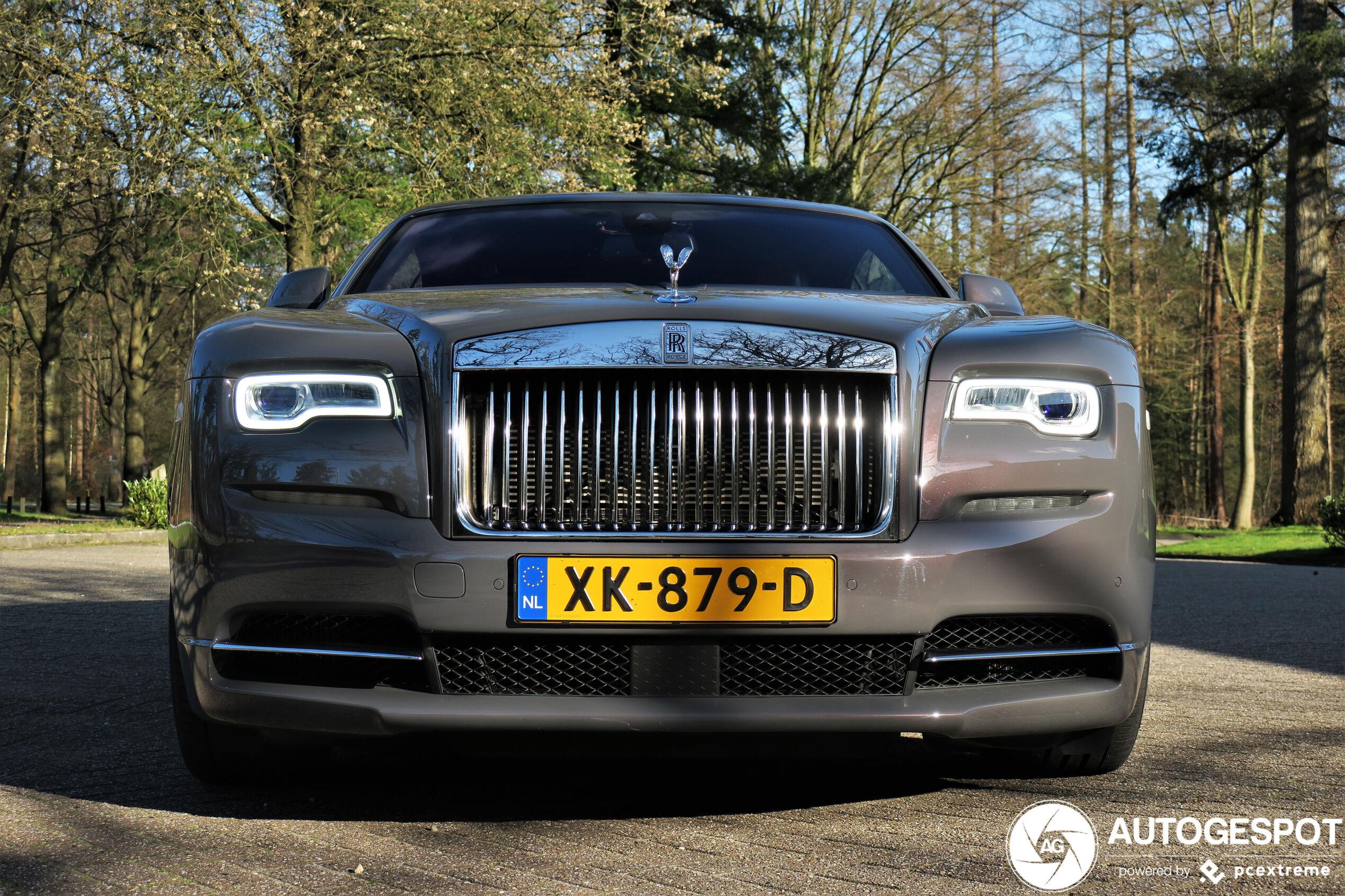 Spot van de dag: Rolls Royce Wraith Luminary