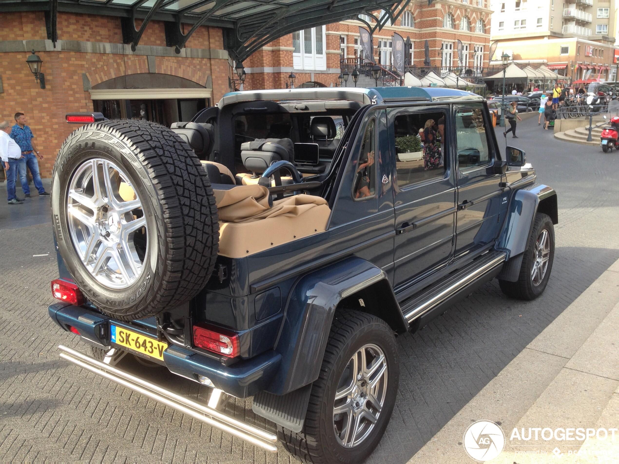 Spot van de dag: Mercedes-Maybach G 650 Landaulet