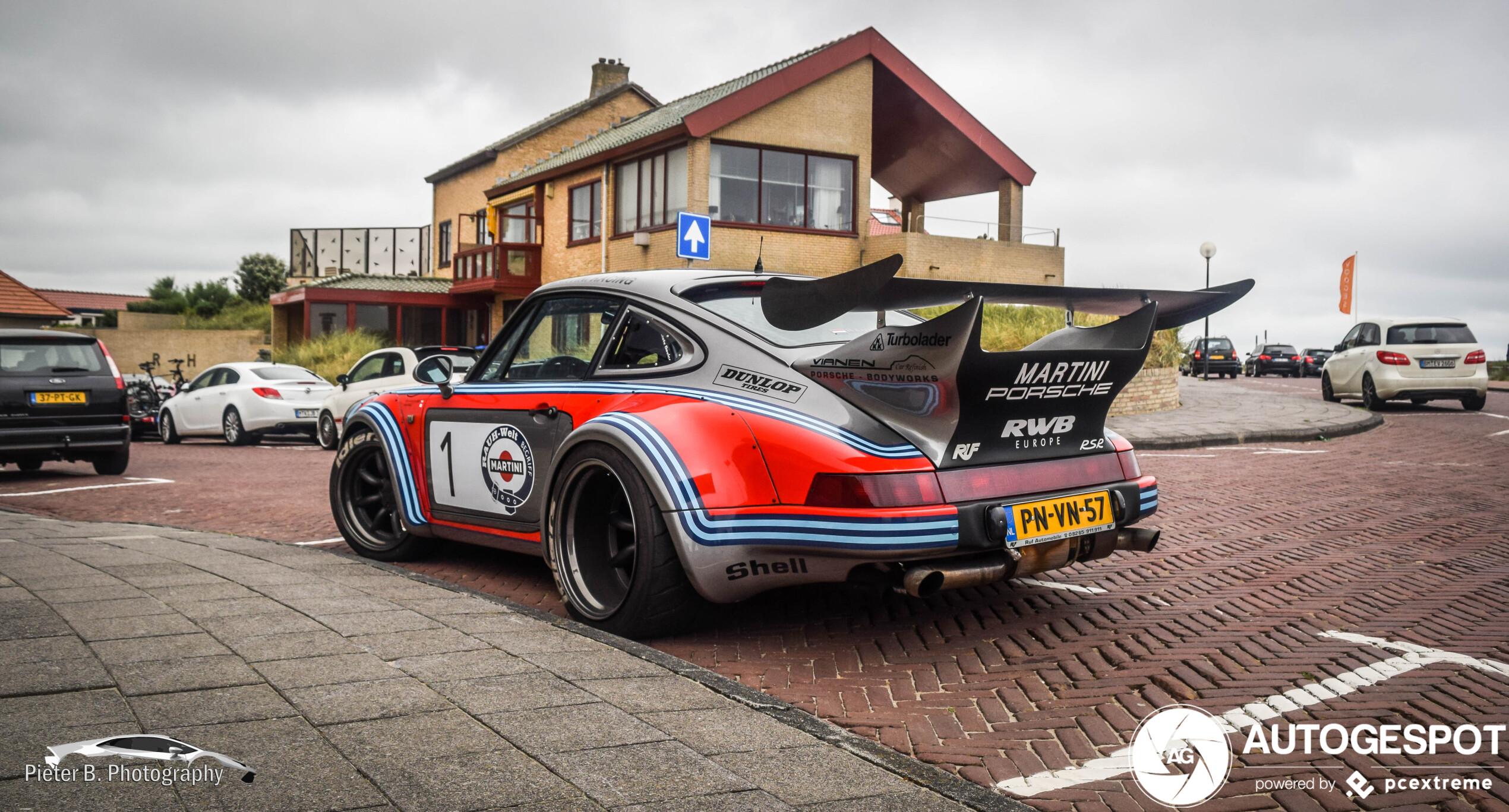 Spot van de dag: Porsche Rauh-Welt Begriff 964 Turbo