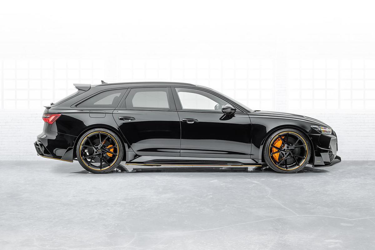 Mansory gaat vol voor de Audi RS6 Avant