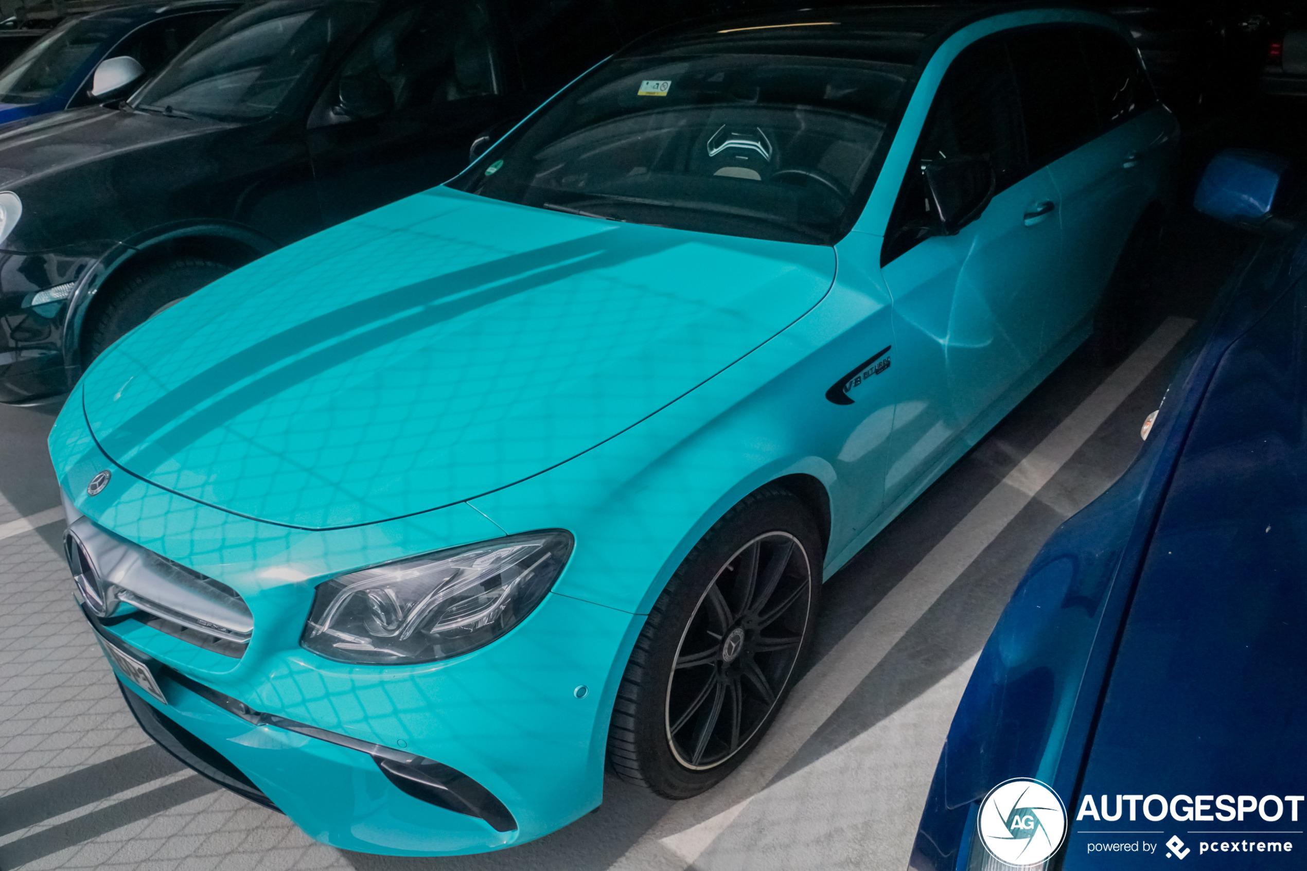 Mercedes-AMG E 63 S Estate vraagt de aandacht