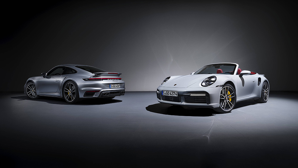 Lightning fast: Porsche 992 Turbo S