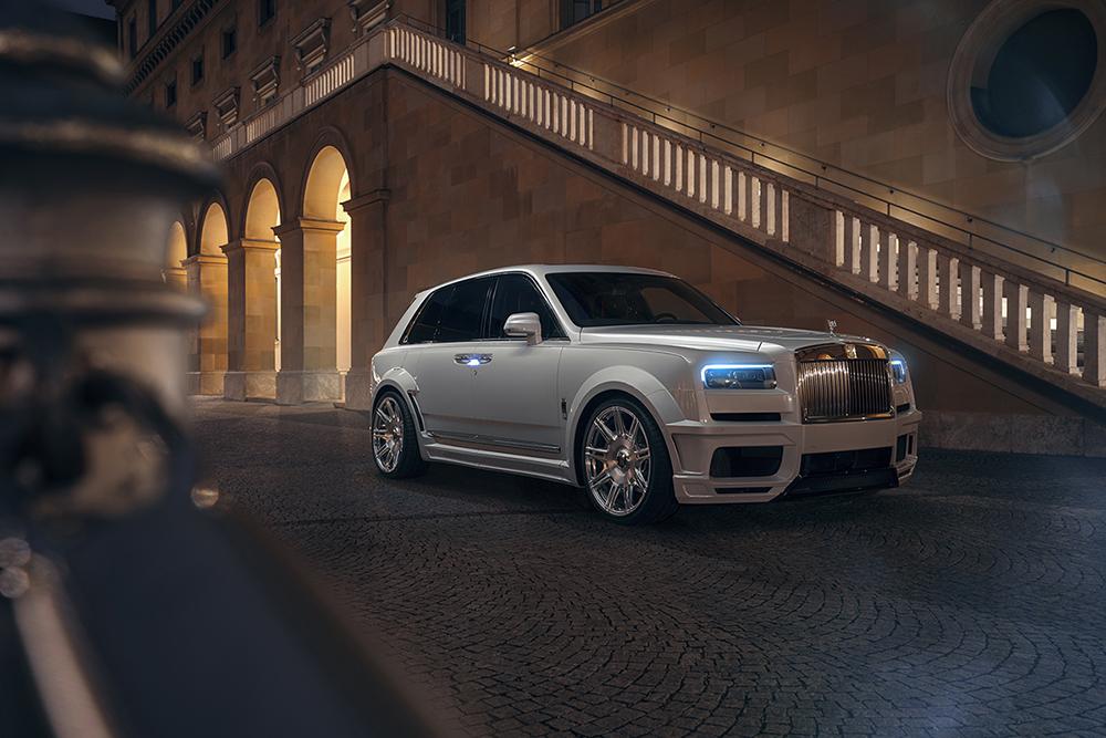 Spofec customizes the Rolls-Royce Cullinan