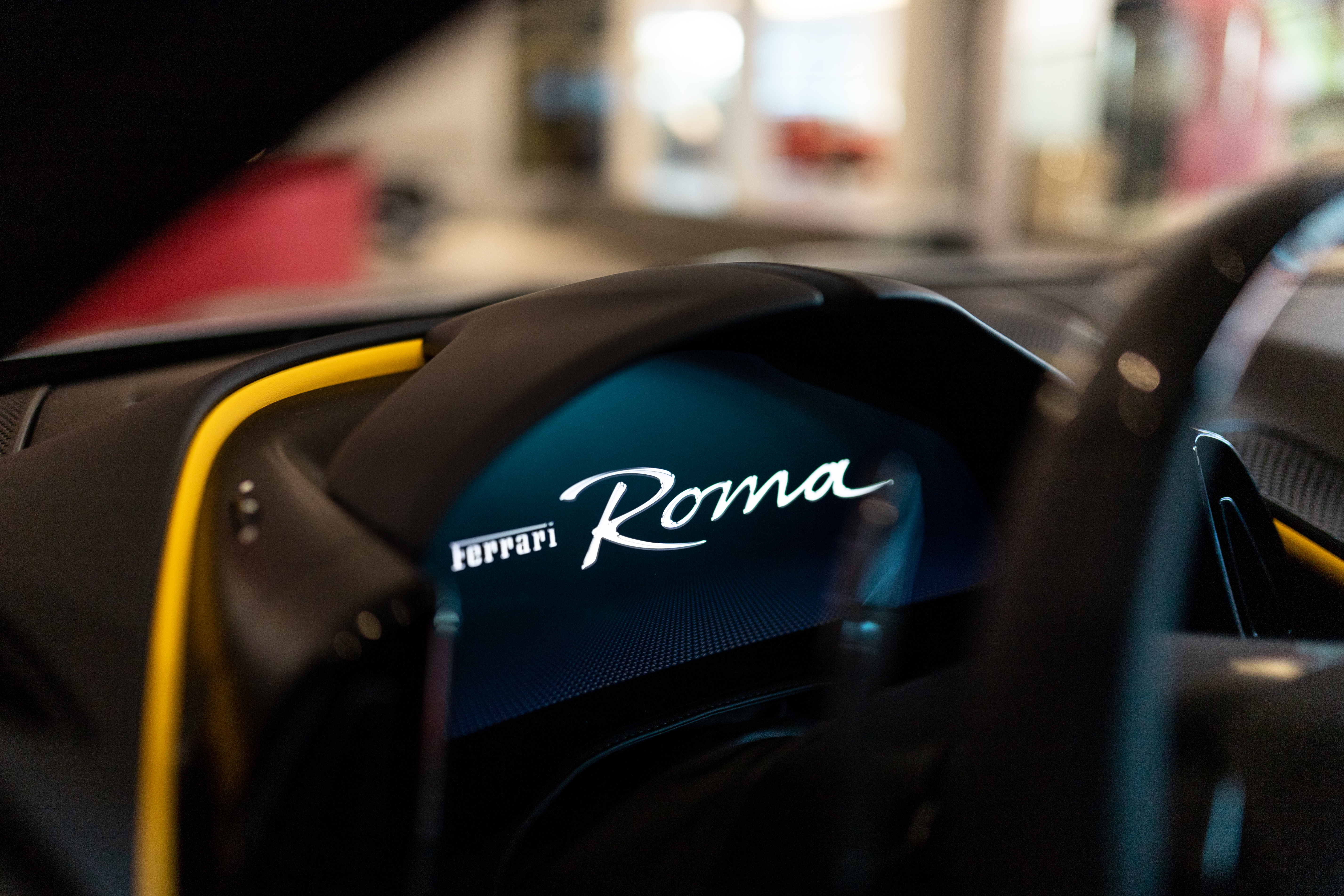 Eerste kennismaking met de Ferrari Roma