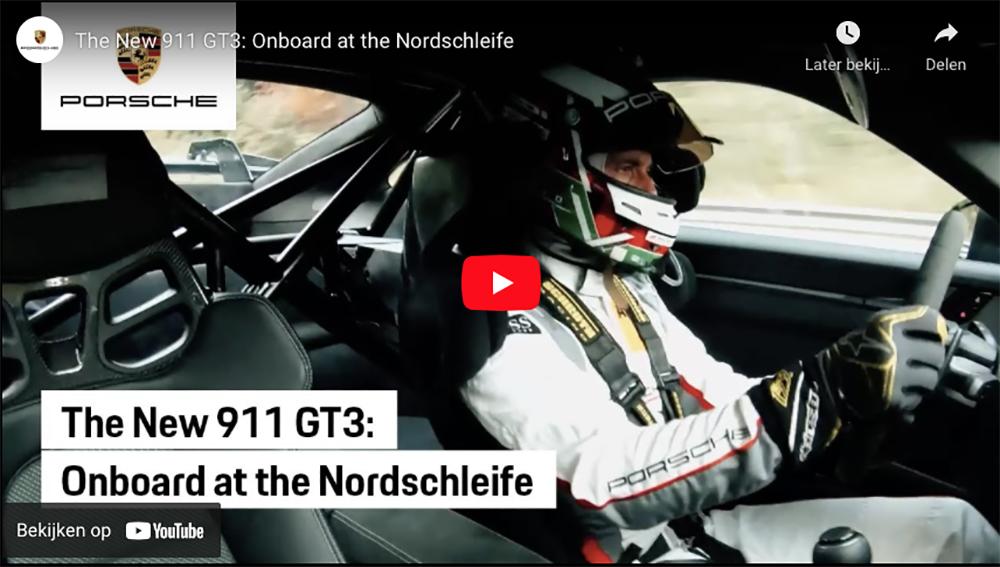 Filmpje: aan boord van de Porsche 992 GT3 tijdens een rondje op de Ring