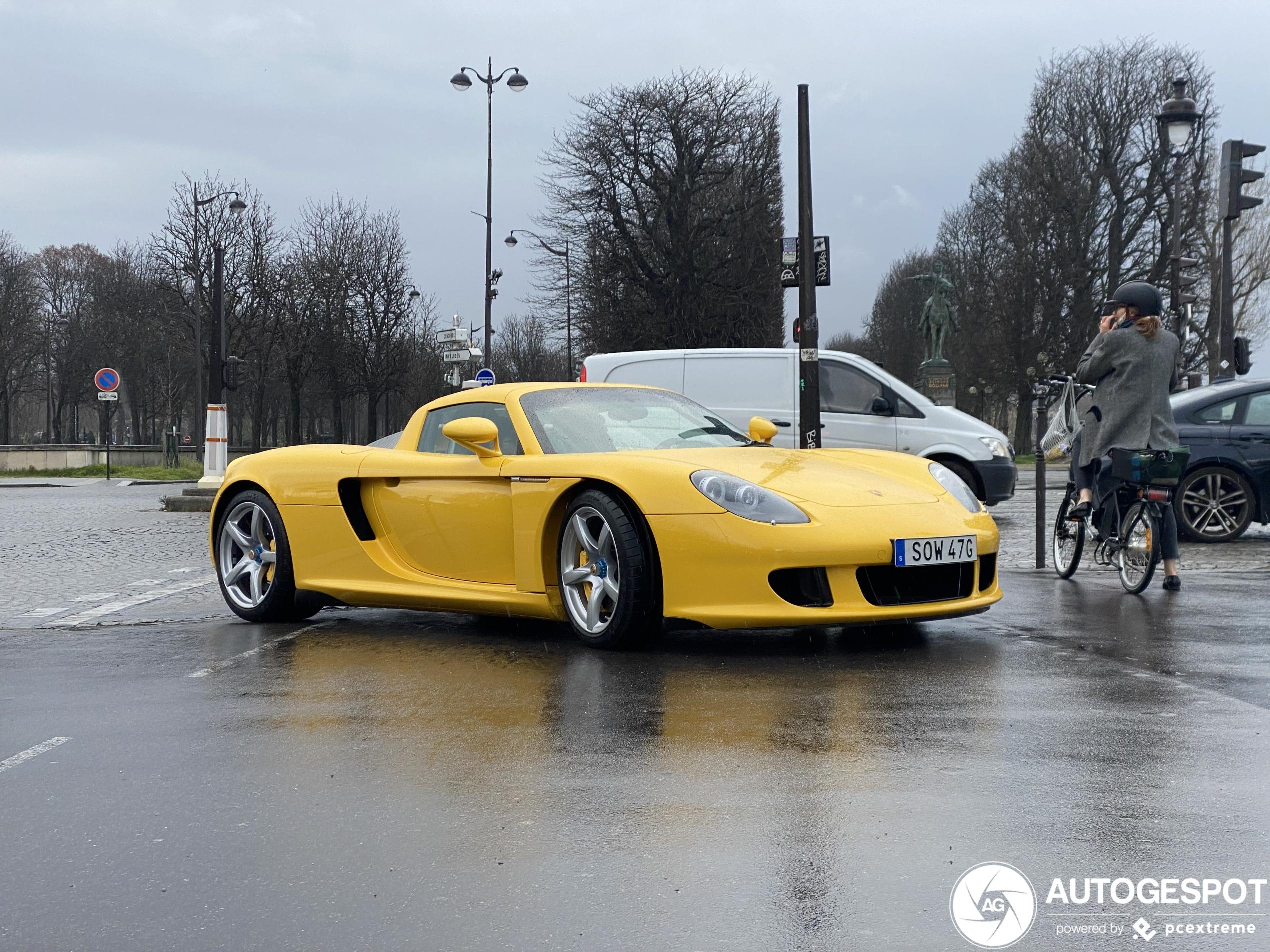 Verwacht je dit in een regenachtig Parijs?