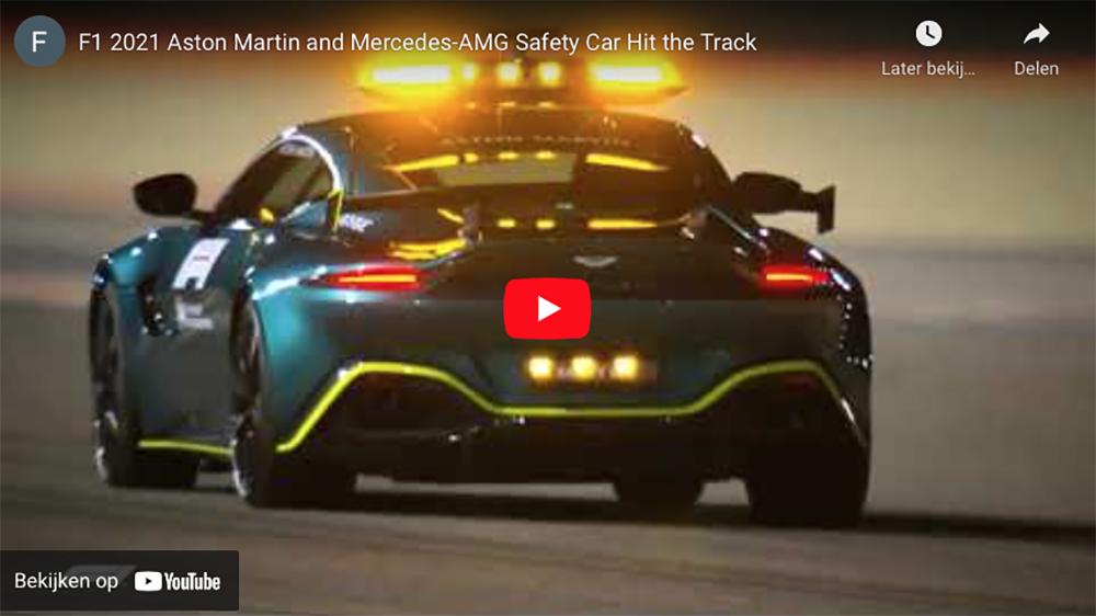 Filmpje: zie de nieuwe Formule 1 safety cars in actie