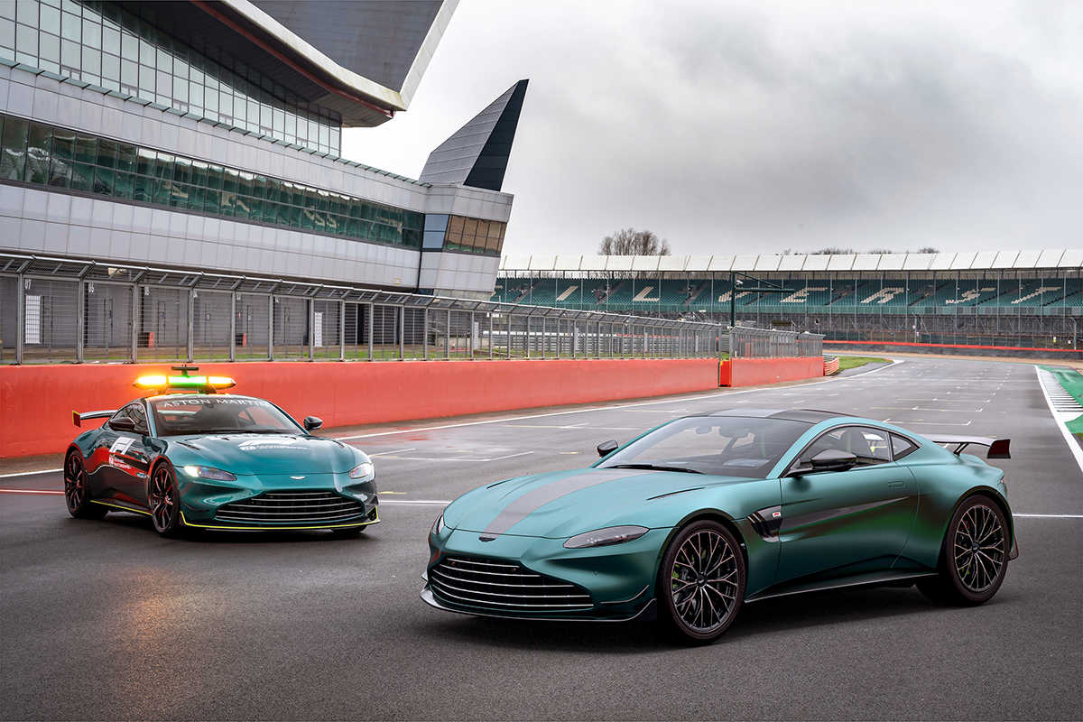 Aston Martin celebrates return to Formula 1 with Vantage F1 Edition