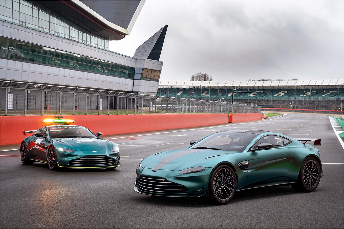 Aston Martin celebrates return to Formula 1 with Vantage F1 Edition