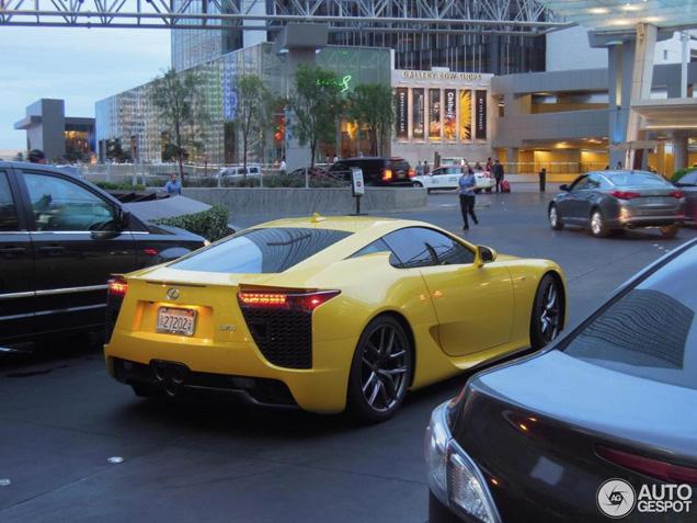 Opvallende Japanner: Lexus LF-A