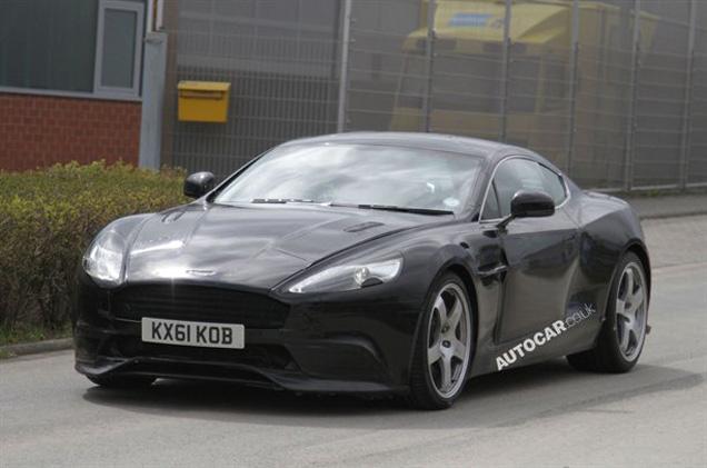 Powerful Apparition: new Aston Martin DBS