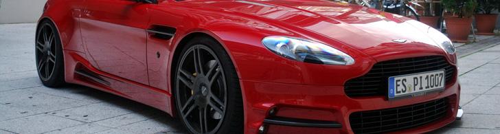 Grosse et assez élégante: Aston Martin Mansory V8 Vantage