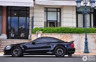 Bruut met een mening: Mercedes-Benz SL 65 AMG Black Series
