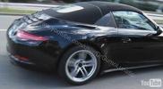 La Porsche 991 Targa a été filmée !