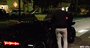 Vidéo : trois personnes à bord d'une Lamborghini Aventador LP700-4