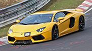 Este acesta Lamborghini Aventador SuperVeloce?