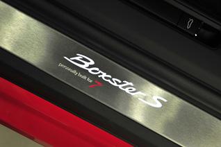 Porsche Boxster S Red 7 speciaal voor de Nederlandse markt