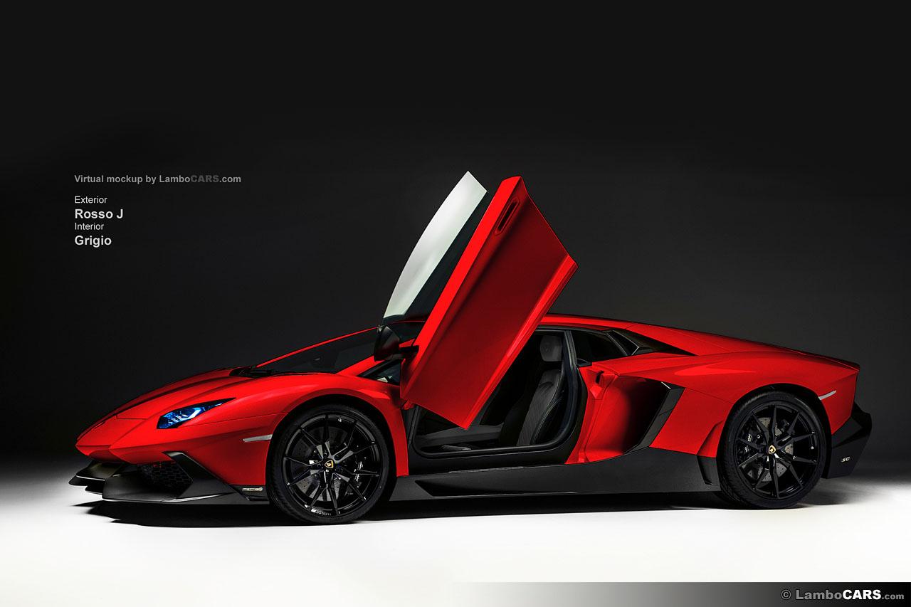 A Lot Of Colours For The Lamborghini Aventador Lp720 4 50