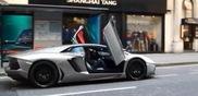 Voici une bien étrange manière d'attirer l'attention en Aventador