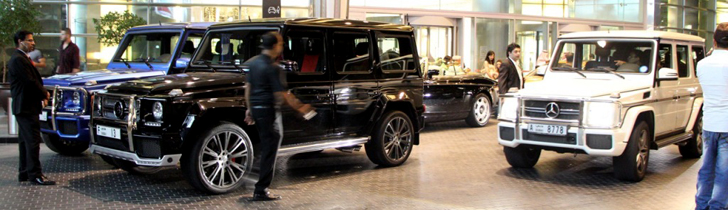Mercedes-Benz G-Klasa, uobičajen prizor u Dubajiu