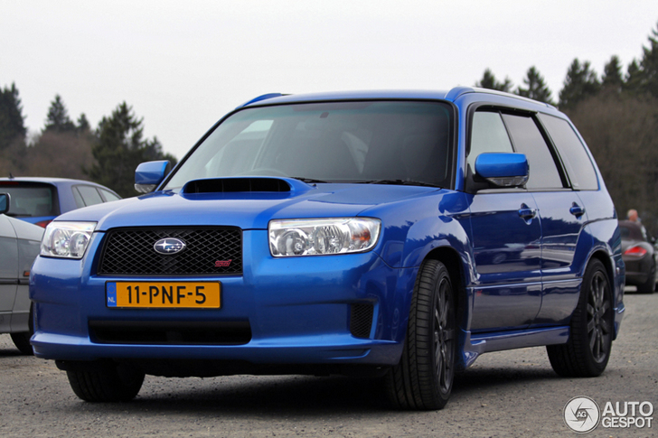 Fast And Rare Subaru Forester Sti