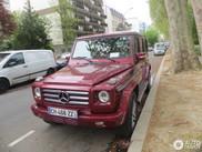 Mercedes-Benz G 55 AMG pastebeta su sia keista spalva!