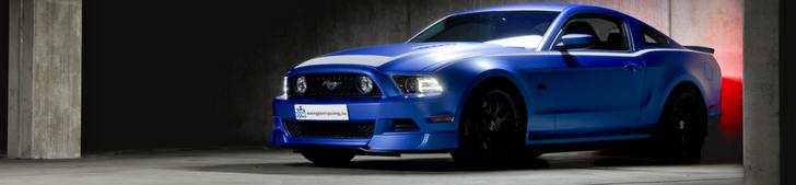 Sessão fotográfica: Ford Mustang RTR