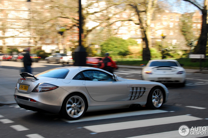 Of Supercars Is Driving Through London