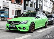 Mercedes-Benz C 63 AMG Estate u drečavoj boji!