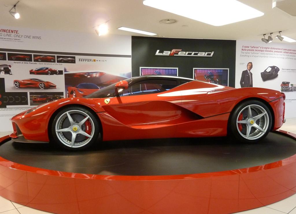 La Ferrari 232 Arrivata Nel Museo Ferrari A Maranello
