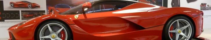 'La Ferrari' в музее Ferrari в Маранелло
