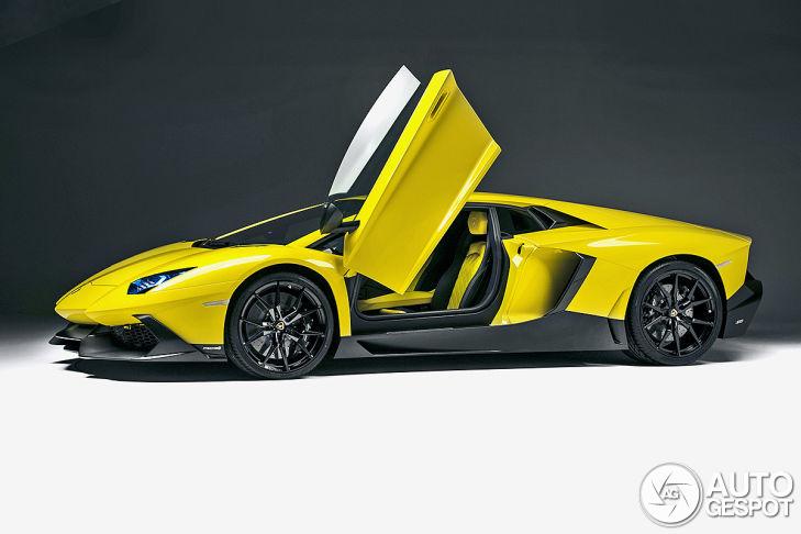 Dit is de Lamborghini Aventador LP720-4 50 Anniversario