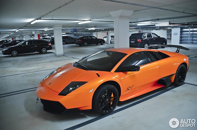 Beautiful Pictures Of A Lamborghini Murcielago Lp670 4 Superveloce