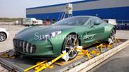 Один из Aston Martin One-77 был доставлен в Казахстан!