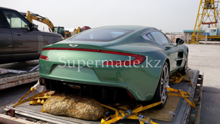 One of the Aston Martin One-77's can be spotted in Kazakhstan!