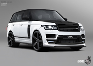 A German Special Customs está a trabalhar no novo Range Rover