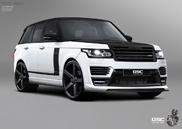 German Special Customs  lucreaza la noul Range Rover