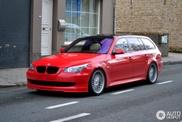 Avvistata una Alpina B5 Touring rossa!