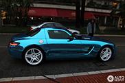 Mercedes-Benz SLS AMG Electric Drive avistado no Monaco