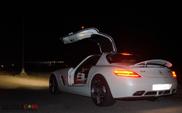 300 км/ч по Марракешу на Mercedes-Benz SLS AMG!