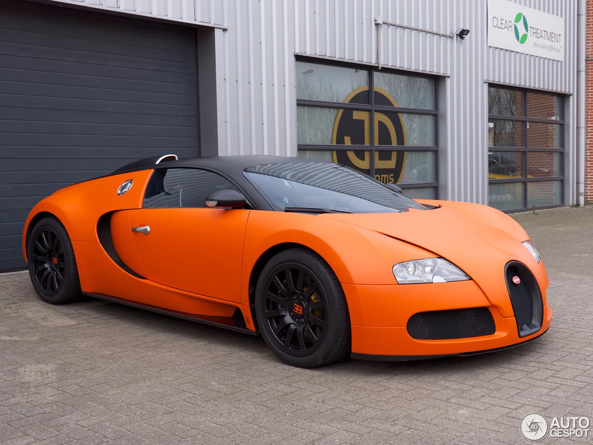 Bugatti Veyron Is Orange For Kings Day