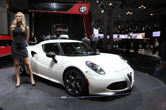 New York 2014: Alfa Romeo 4C