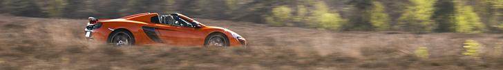 Conduzido: McLaren 650S Spider